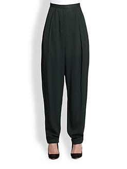 The Row - Giacomo High-Waisted Slouchy Pants