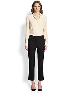 The Row - Silk Crepe de Chine Shirt