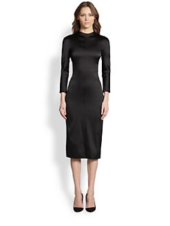 The Row - Bodag Stretch Satin Dress
