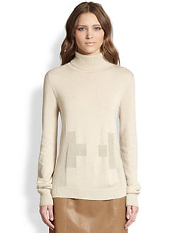 The Row - Fleur Cashmere & Silk Turtleneck Sweater