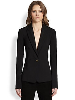 The Row - Brendan Stretch Crepe Blazer