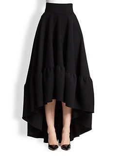 Antonio Berardi - Full Hi-Lo Skirt