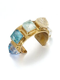 Stephen Dweck - Agate & Bronze Cuff Bracelet