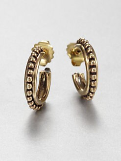 Stephen Dweck - Textured Hoop Earrings