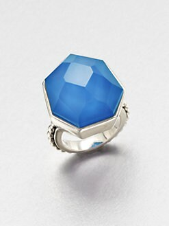 Stephen Dweck - Blue Agate Quartz Ring