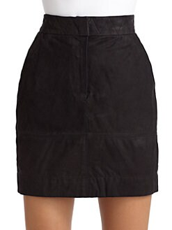 Cut 25 by Yigal Azrouel - Leather Skirt