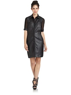 W118 by Walter Baker - Sylvie Faux Leather Dress