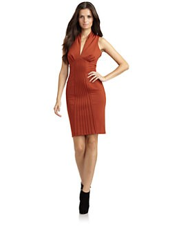 Catherine Malandrino - Ponte Knit Seamed Dress