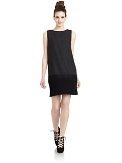 Hanii Y - Knit Hem Shift Dress