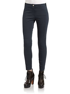 Hanii Y - Skinny Knee-Patch Pants