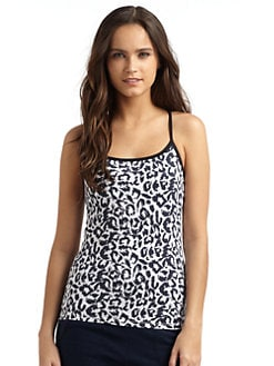 So Low - Racerback Cheetah Tank Top