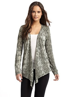 So Low - Snake Cardigan