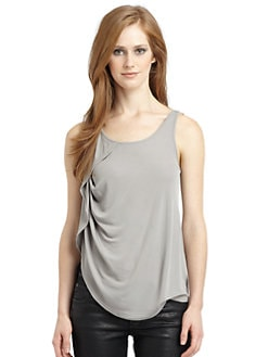 Under.Ligne by Doo.Ri - Asymmetric Ruffle Tank Top