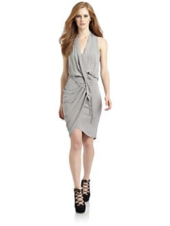 Under.Ligne by Doo.Ri - Draped Wrap Dress