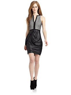 Under.Ligne by Doo.Ri - Draped Sheath Dress