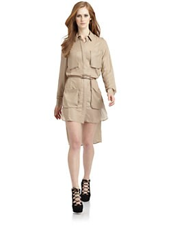 Under.Ligne by Doo.Ri - Military Shirt Dress