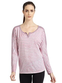So Low - Striped Dolman Shirt