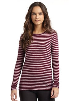 So Low - Striped Crewneck Tee