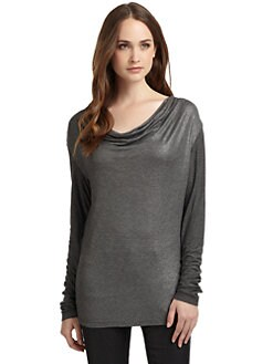 Oonagh by Nanette Lepore - Chip Cowlneck Top