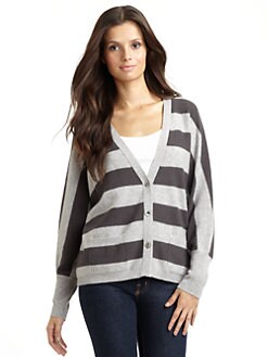 Kokun - Cashmere Striped Cardigan