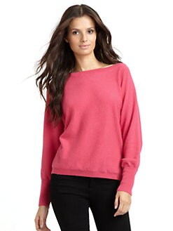 Kokun - Boatneck Cashmere Dolman Sweater