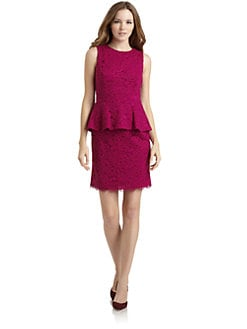 Cynthia Steffe - Camille Floral Lace Dress