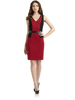 Cynthia Steffe - Alana Colorblock Sheath Dress
