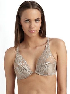 Stella McCartney - Dolly Snogging Contour Bra/Mouse Brown