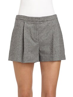 Tibi - Menswear Houndstooth Shorts