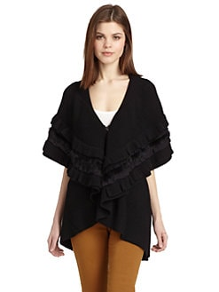Alice + Olivia - Holly Ruffle Vest