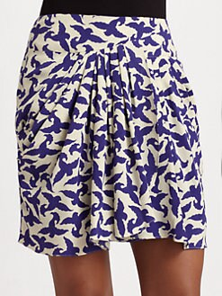 Leifsdottir - Swirling Songbird Silk Skirt