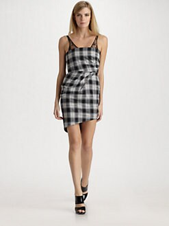 Alice + Olivia - Bonnie Plaid Flannel Dress