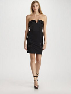 Alice + Olivia - Sparrow Deco Bustier Dress