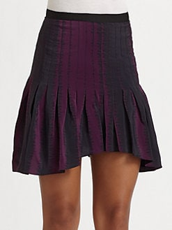Geren Ford - Grosgrain Pleated Skirt