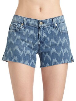 7 For All Mankind - Carlie Cut-Off Shorts