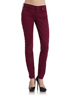 7 For All Mankind - Gwenevere Skinny Leg Denim Jeans/Amethyst