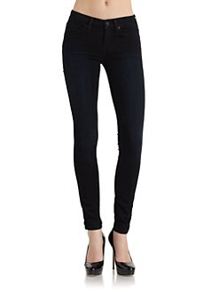 7 For All Mankind - Gwenevere Skinny Leg Denim Jeans/Brushed Night