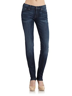 7 For All Mankind - Roxanne Skinny Leg Denim Jeans