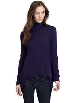 vkoo - Asymmetrical Cashmere Turtleneck