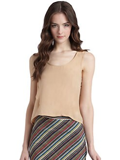 Gar-De - Silk Crepe Tank Top