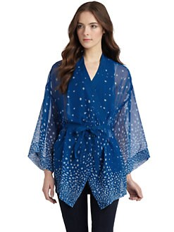Gar-De - Silk Wrap Kimono Jacket