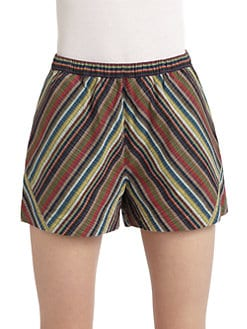 Gar-De - Pull-on Multistripe Shorts