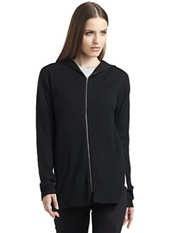 Thakoon Addition - Hi-Lo Zip Hoodie