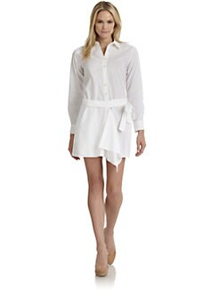 Thakoon Addition - Wrap-Around Shirtdress