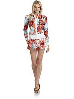Thakoon Addition - Hawaiian-Print Jumper