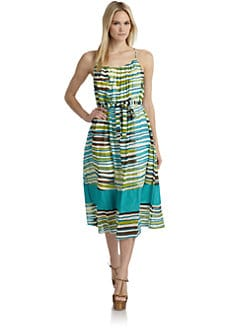 Thakoon Addition - Cotton Voile Sundress