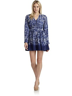 Thakoon Addition - Silk Batik-Print Dress