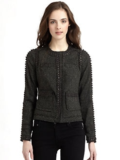 Rebecca Taylor - Boucle Sequin Jacket