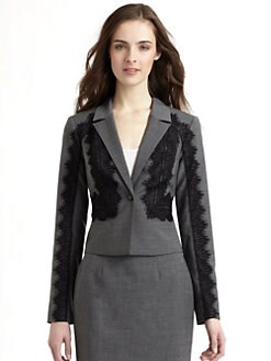 Rebecca Taylor - Lace Detail Blazer
