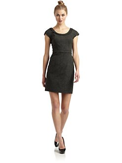 Rebecca Taylor - Boucle Knit Sheath Dress